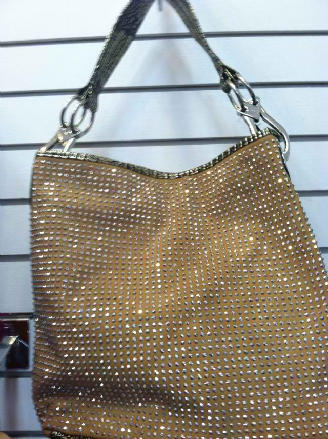 Gold purse with bling | Purses 2 Go