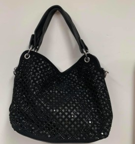 Black Sparkle Carryall