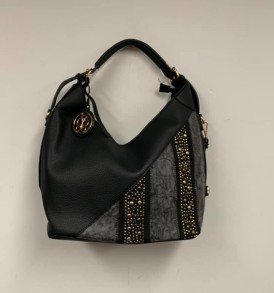 Black and Gray purse