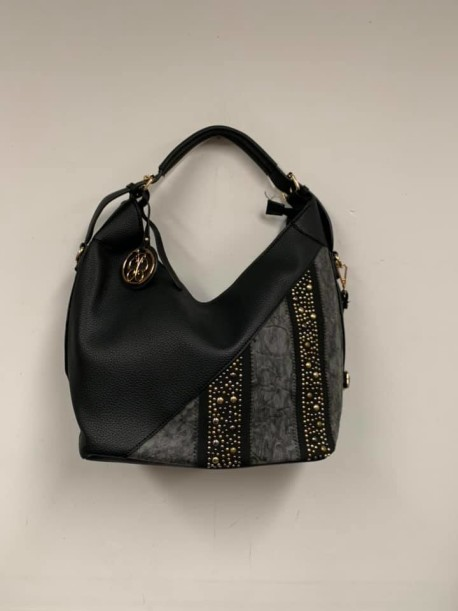 Black and Gray purse