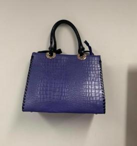 Bluish Purple Handbag