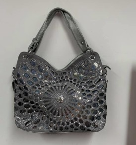 Gray Decorative purse