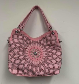 Lt. Pink Rhinestone Bag