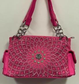 Pink Rhinestone Concealed